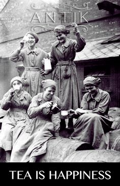 Tea is Happiness.