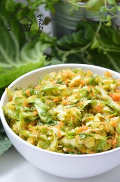 Coleslaw, Lettuce, Cabbage, Grilling, Vegan Recipes, Good Food, Food And Drink, Vegetables, Cooking
