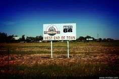 Midpoint, Texas on Route 66