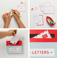 Free printable: Mailbox kit for kids to inspire letter writing. Adorable! We really can't believe they're offering this free.