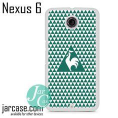 Le Coq Sportif Geometric 4 Phone case for Nexus 4/5/6