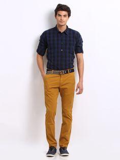 Sweet spicy brown #mustard pants | Source: freecultr.com