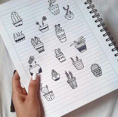 Image via We Heart It #cool #drawing #plants