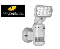 Refurb Night­Watcher Robotic LED Secu­rity Light for $80 + free shipping