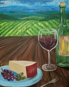 Wine & Design Milltown NJ Paint & Sip Wine & Paint Parties