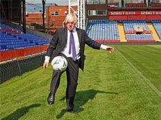 Crystal Palace FC Foundation had the privilege to welcome London Mayor, Boris Johnson yesterday #bitofacock