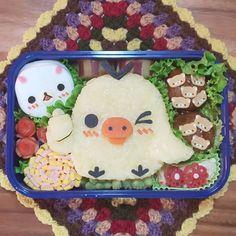 Instagram 上的 もねっち:「 おはようございます🙂 * * 今日のお弁当 * * リラックマ弁当を作ると、どうしてもサブキャラになってしまう#キイロイトリ… 」 Cute Bento Boxes, Cake, Desserts, Instagram, Food, Tailgate Desserts, Deserts, Kuchen, Essen