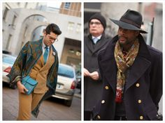 God Save the Queen : Street Style Men Milán FW #streetstyle #milanfashionweek