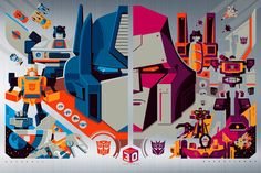 Transformers News: Re: New Transformers: The Movie Print from Acid Free Gallery