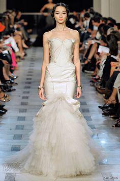 zac posen wedding dress 2012