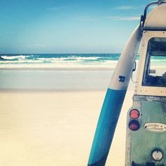 Land Rover + Surfboard = Awesome