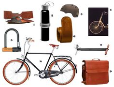 Well-Groomed Gift Guide: 9 to 5 Bike Guy - For the #urban #biker #groomsmen