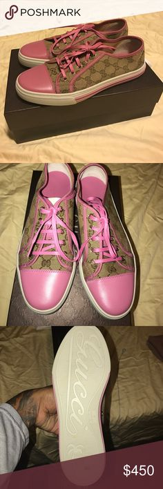 Gucci sneakers women's Brand new official Gucci sneakers for women size 8 Gucci Shoes Slippers