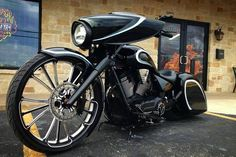 Nice victory bagger