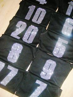 1 Rhinestone Baseball number Iron On Transfer : Crystal bling hot Fix Transfer for shirt, jersey, tote bag, etc on Etsy, $6.95