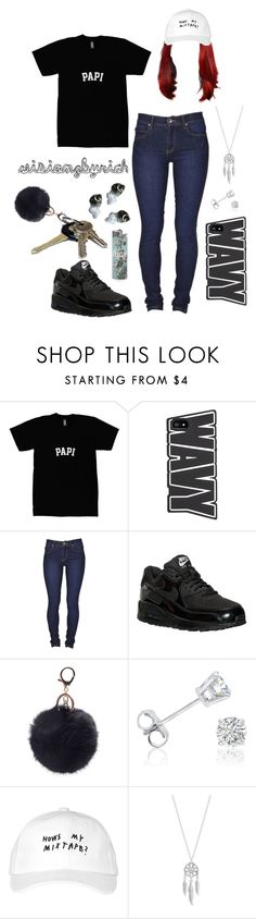 """""""on the way ."""" by riahbreezy on Polyvore featuring Dr. Denim, NIKE, Avon, Amanda Rose Collection, October's Very Own and Lucky Brand"""