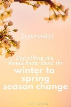 Winter to spring season change in ayurveda - ForeverSunday Yoga Sequences, Yoga Poses, Ayurveda Yoga, Salty Foods, Season Change, Medicinal Herbs, Healthier You, Natural Medicine, Health And Wellness