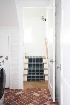 Brick+herringbone+floors+and+navy+stair+runner+||+Studio+McGee.jpg