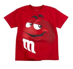 M's Candy Red Character
