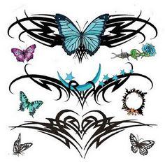lower back tribal tattoos1 Lower Back Tattoo for Women