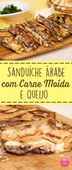 Esse sanduíche eu aprendi a fazer quando morava na Espanha, é maravilhoso! Sem contar que é muito fácil e rápido de fazer! Perfeito para aquele dia que você quer comer algo rápido e gostoso!