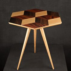 Darkroom Rockman & Rockman Oak Cube 6 Table