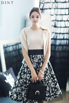 cardigan skirt set