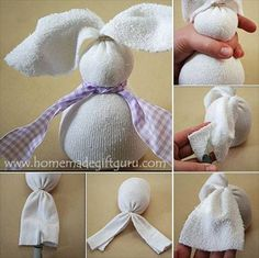 Craft and other activities for the elderly face cloth easter making a no sew sock bunny is one of those easter crafts i adore the kids love them and they make unique easter gift ideas negle Image collections