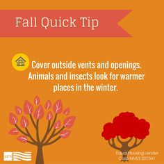 Fall is almost over! Get ready for winter weather.
