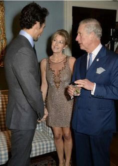@DGandyOfficial @EmmaWillisLtd and His Royal Highness The Prince of Wales at our Christmas Party.