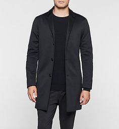 CALVIN KLEIN Cotton Jersey Coat - Carlo K10K100647478