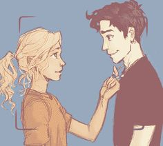 Guys, I can't stop watching this! It is the perfect Percabeth gif. <3