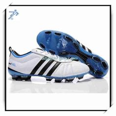 Soccer Boots Best Price 11Pro 2 Leather Adidas Adipure IV Trx FG White Black Blue