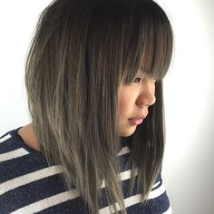 Bangs /Textured Lob @KortenStEiN
