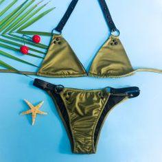 05eeca222d Sexy Halter Alloy Ring Design Bikini For Women Ring Designs