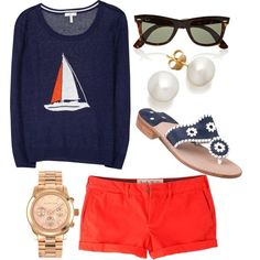 """""""nautical"""" by the-southern-prep on Polyvore"""
