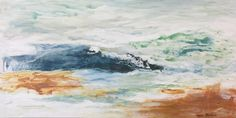 Abstract 30x60 Sold Waves, Abstract, Artwork, Painting, Outdoor, Outdoors, Work Of Art, Summary, Paintings