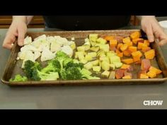 The Right Way To Roast Vegetables #videos #tips #cooking #vegetables