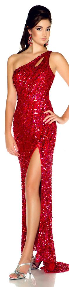 Mac Duggal couture prom dress FLASH STYLE 3389L 2013