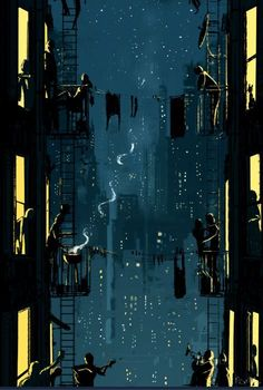 """danismm: """"""""You bring the drinks, I'll bring my guitar"""" - artist: Pascal Campion """""""