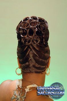 Check out these old school styles once more. Its so awesome how creative Check out these old school styles once more. Its so awesome how creative are. Black Hair Updo Hairstyles, Roll Hairstyle, African Braids Hairstyles, Funky Hairstyles, Girl Hairstyles, Braided Hairstyles, Fantasy Hairstyles, Updo Styles, Curly Hair Styles
