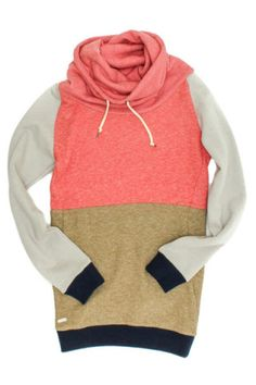Extend Sweatshirt- Pink & Olive | Tigertree