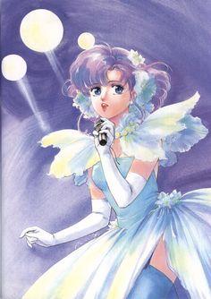 "Yu Morisawa as alias Creamy Mami from ""Creamy Mami The Magic Angel"" series by manga artist Akemi Takada."