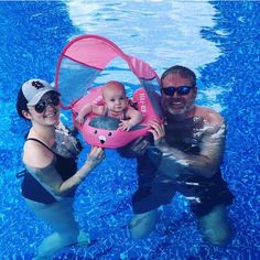 Build your baby's water confidence with our Next Generation Latest Mambo Baby Float SwimTrainer with SunSmart UV Protection Canopy. Non Inflatable PearlFoam Material. Baby Tub, Baby Pool, Baby Swimming, Baby Neck Float, Baby Swim Float, Beach Hacks, Fun Activities For Toddlers, Young Baby, Unique Baby Gifts
