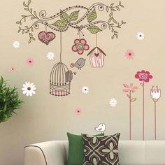 2.35AUD - Cute Animals Birds Tree Removable Kids Wall Sticker Vinyl Decals Nursery Decor #ebay #Home & Garden