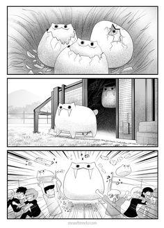 "meawbin: "" Jurassic World Meawolution Support on patreon "" Cute Comics, Funny Comics, Crazy Cat Lady, Crazy Cats, Comedy Comics, Creepy Cat, Cute Anime Character, Funny Cartoons, Cat Memes"