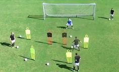 Exercice de coordination avec ballon (réaction et conclusion)