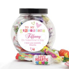 Personalised 'To My Girlfriend' Sweets