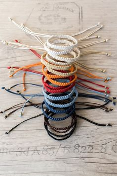 Surfer bracelet Macrame bracelet Hippie gift Friendship bracelet Bff bracelet Macrame jewelry Stackable bracelets, Source by richdaric VEJA MAIS richdaric. Bracelets Bff, Bracelets Hippie, Surfer Bracelets, Diy Bracelets Easy, Stackable Bracelets, Bracelet Crafts, Hippie Jewelry, Diy Bracelets With String, Indian Jewelry