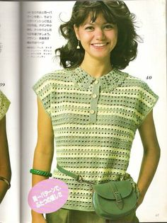 Japanese magazine 1983 — Яндекс.Диск Vintage Crochet, Crochet Lace, Baby Summer Dresses, Mode Crochet, Crochet Cardigan, Easy Crochet Patterns, Crochet For Kids, Crochet Summer, Lace Knitting